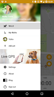 Dog Walk - Track your dogs!: miniatura de captura de pantalla