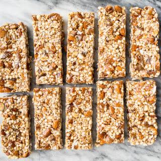 No Bake Apricot Almond Granola Bars (Gluten-Free)