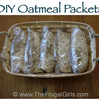 How To Make Homemade Oatmeal Packets