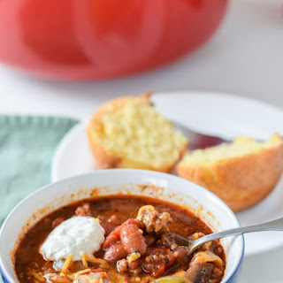 Super Easy Comforting Beef Chili.