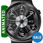 Brushed Metal HD Watch Face Icon
