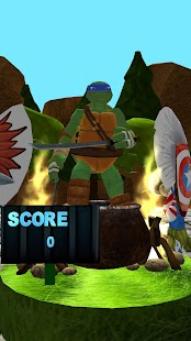 The Surfer Ninja Subway Turtles - náhled