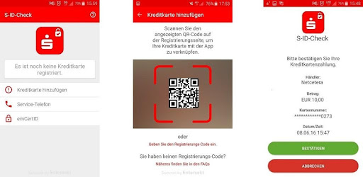 Cvv Nummer Ec Karte Sparkasse.S Id Check Apps Bei Google Play