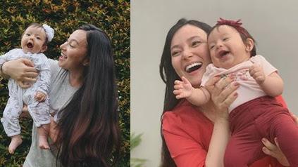 9 Potret Terbaru Anak Asmirandah yang Namanya Sempat Dipermasalahkan Netizen, Kini Makin Lucu dan Gemas - Sama Cantiknya dengan Sang Ibu - KapanLagi.com