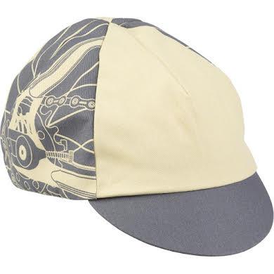 All-City Damn Fine Cycling Cap - Gray, Khaki, One Size