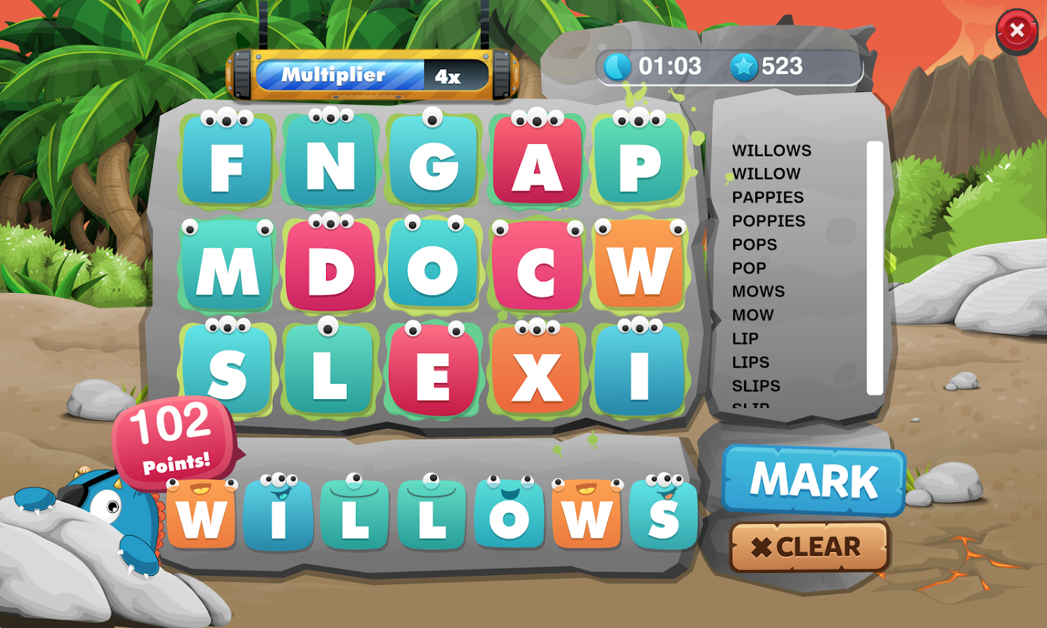 LiteracyPlanet Word Mania- screenshot