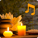 Spa music and relax music. Spa relaxation icon