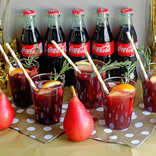 Coke Sangria Mocktail
