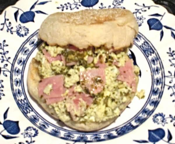 Green Eggs And Ham Sandwiches Recipe