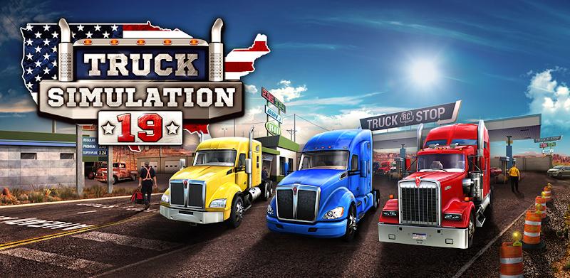 Truck Simulation 19 – APK MOD HACK – Dinheiro Infinito