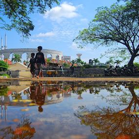Masjid Agung Jawa Tengah by Ayah Adit Qunyit - Travel Locations Landmarks (  )