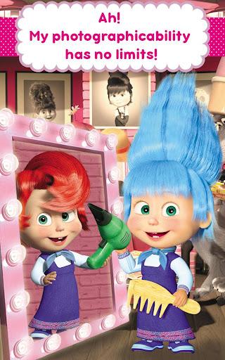 Masha and the Bear: Hair Salon and MakeUp Games 1.1.8 screenshots 21