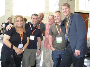 Photo: Practically all the gays that were at Netroots Nation Chicago. Joe Sudbay, Chris Johnson, Mike Rogers, Mike Signorile, and Steve Clemons.