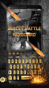 Unduh Gunnery Bullet Battle Keyboard Theme Gratis