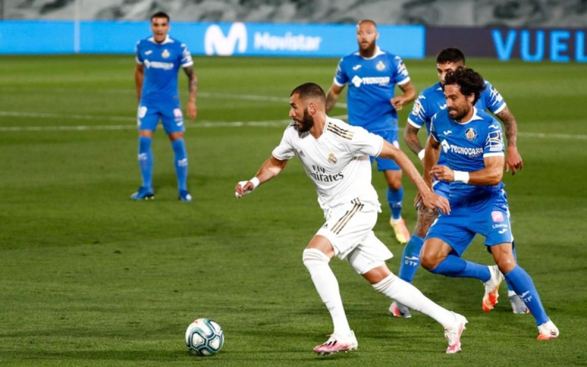 Real Madrid toàn thắng Getafe ở 2 lượt trận mùa giải trước