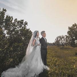 Prewedding by Ryan Chai - Wedding Bride & Groom ( wedding and landscape )
