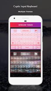Coptic Input Keyboard - náhled