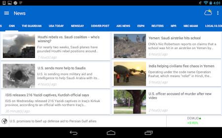 Breaking News & Weather 2.3.2 screenshot 1827631