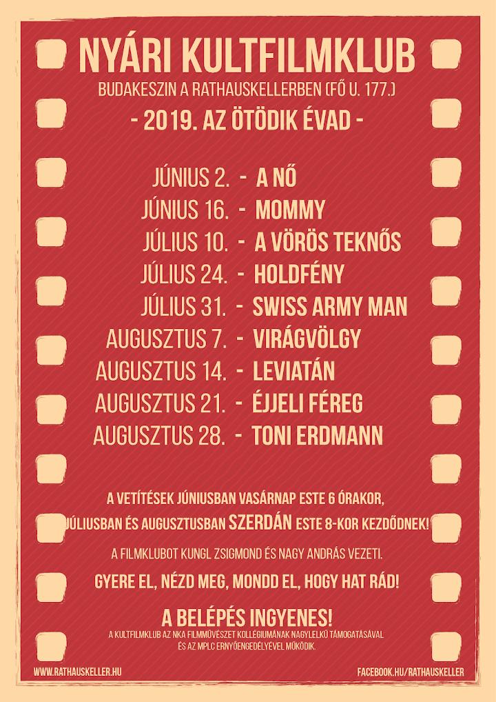 Nyári KultFilmklub - 5. évad