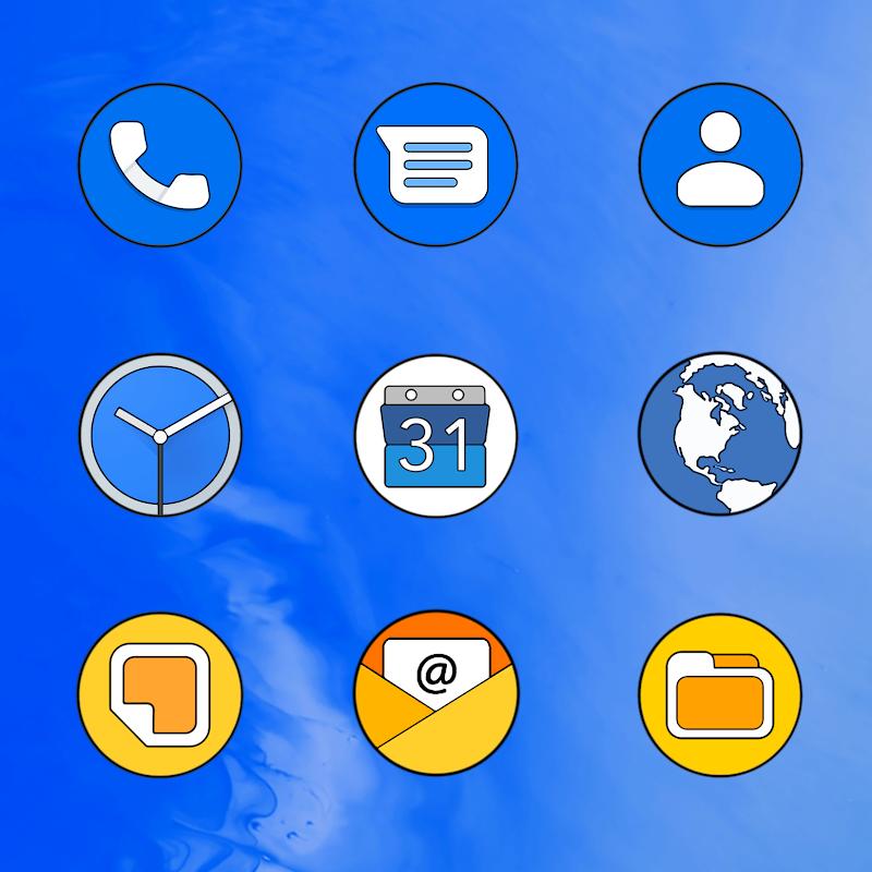 PIXEL Q HD - ICON PACK Screenshot 4