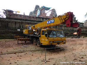Photo: The restoration/preservation of Ta Keo is a project of the PRC (China)