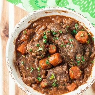 Slow Cooker Pot Roast with Gravy.