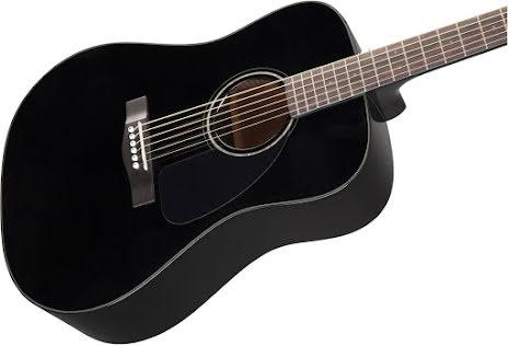 Fender CD-60 Dread V3 DS  Blk WN