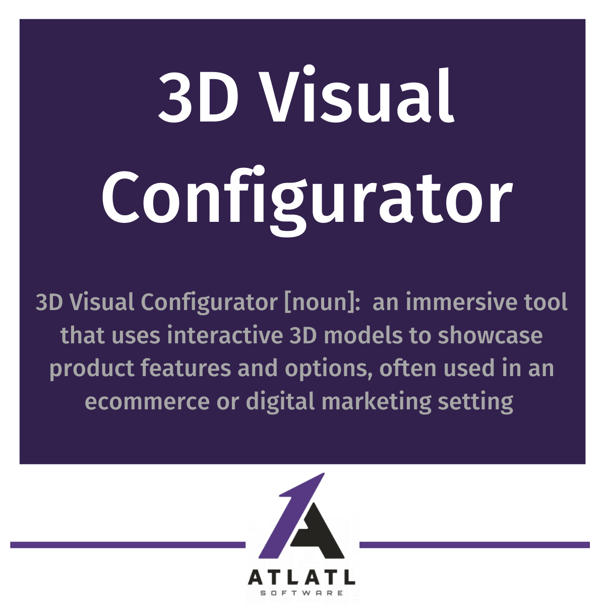 What is a 3D visual configurator? Product configurator for ecommerce