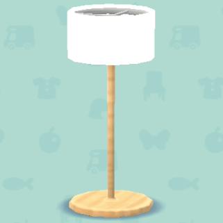 シンプルなランプ