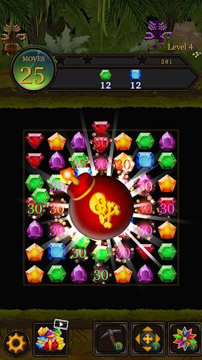 Secret Jungle Pop : Match 3 Jewels Puzzle 1.2.5 screenshots 3