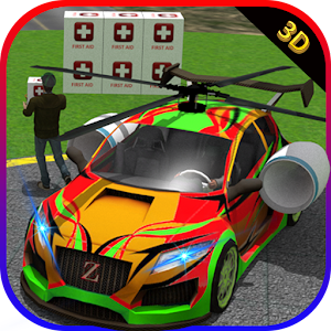 Helicopter Car: Relief Cargo for PC and MAC