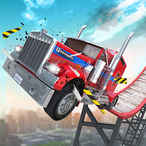 Stunt Truck Jumping 1.6.8 by BoomBit Games logo