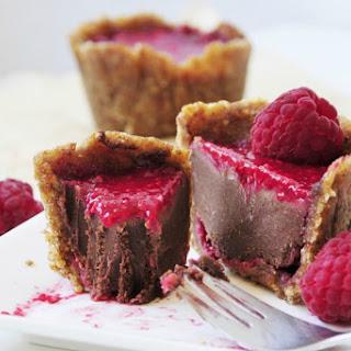 Petite Chocolate Raspberry Cakes [Vegan, Gluten-Free].