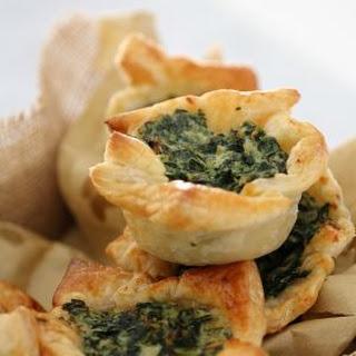Spinach & Ricotta Tarts - Conventional Method Recipe