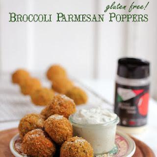 Broccoli Parmesan Poppers (Gluten Free!)