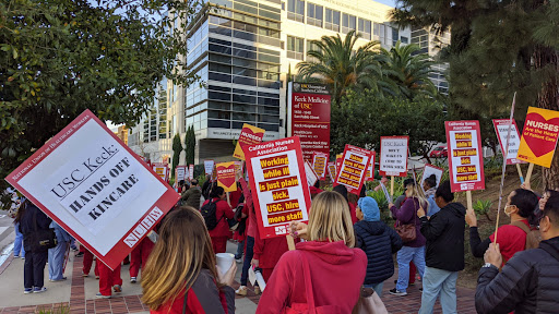 USC healthcare workers OK contract that includes raises between 11%-68%