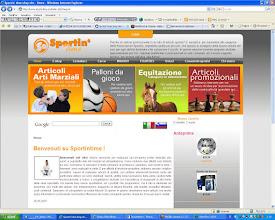 Photo: 2007 - Sportintime, sito e-commerce sportintime.sm