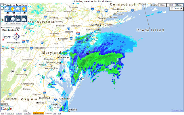 US Weather Radar Chrome Web Store - Us radar weather map online