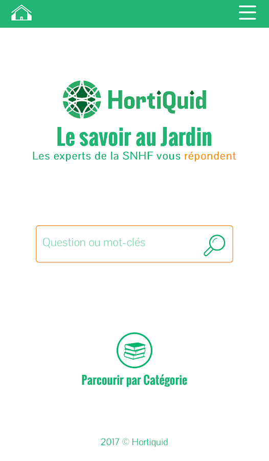 HortiQuid – Capture d'écran