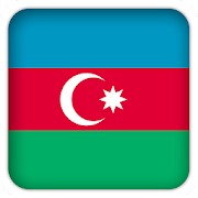 Selfie with Azerbaijan flag