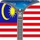 Malaysian Flag Zipper Lock