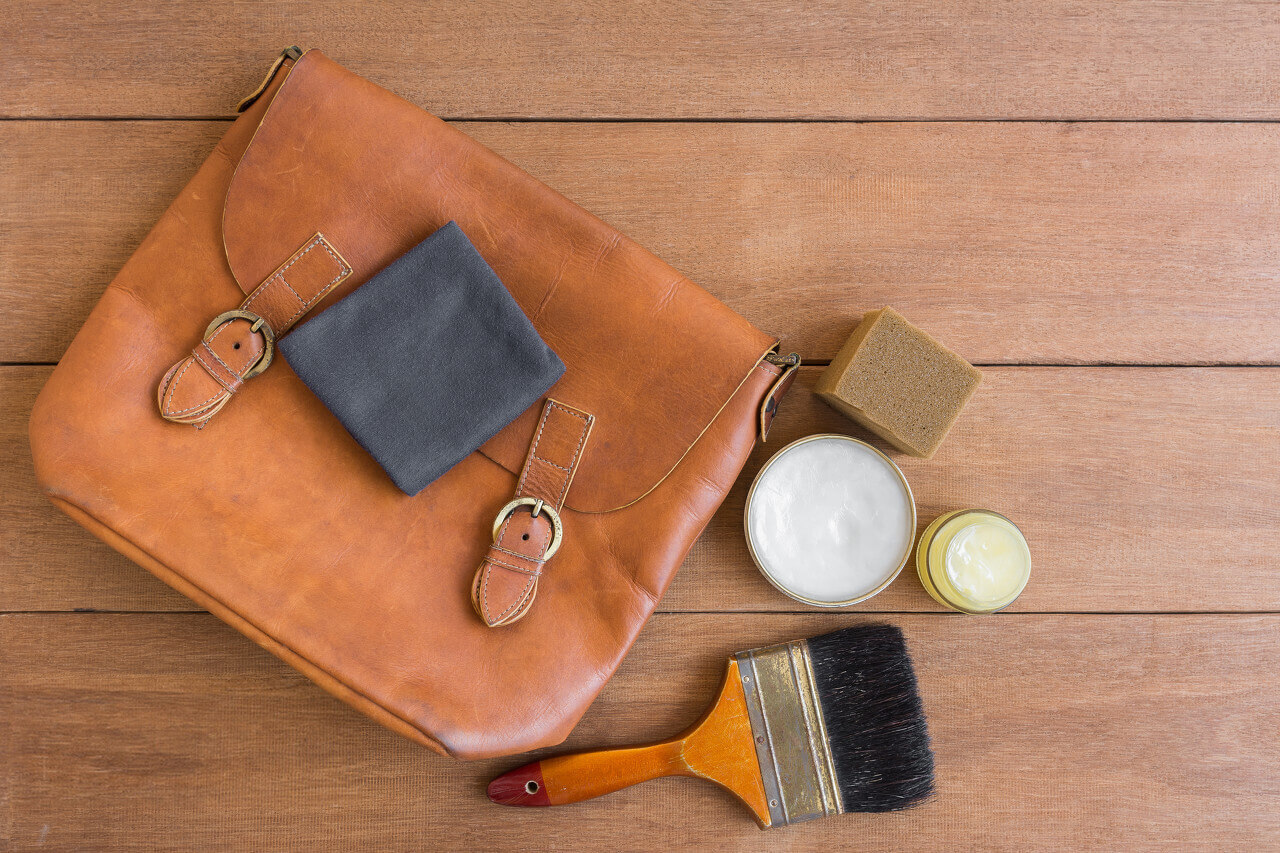 Taking care of genuine leather