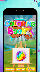 Fruits Coloring Book & Drawing Book - Kids Game APK screenshot thumbnail 1