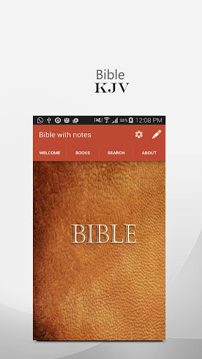 kjv bible : with notes