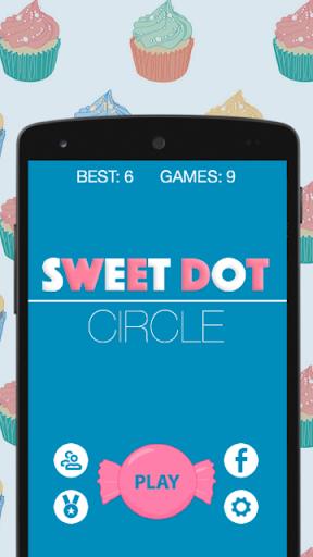 スウィートサークル - ドットラッシュゲーム