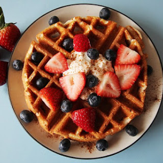 High Protein Flax Waffles Recipe (So Good!).
