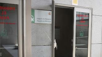 Acceso al Juzgado y la Fiscalía de Menores de Almería