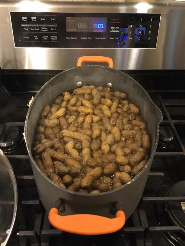 Georgia Boiled Peanuts Recipe