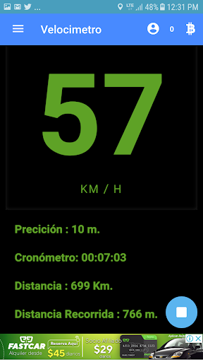 Velocimetro digital GPS  sin datos o internet 0.0.2 screenshots 1