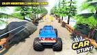 screenshot of Mountain Climb Stunt: Off road Car Games